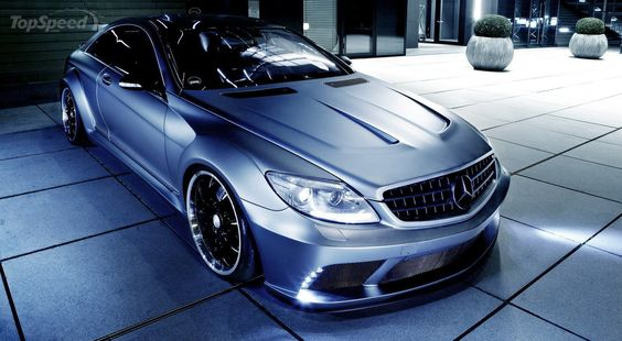2013 Mercedes-Benz CL63 AMG By Famous Parts