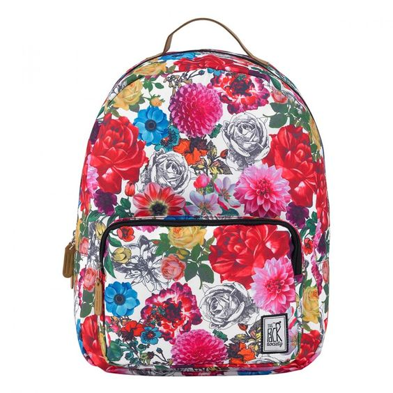 The Pack Society Flower Classic Backpack