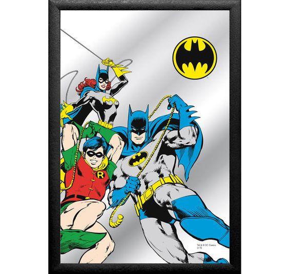 Batman Spiegel Comic. Hier bei www.cloeup.de