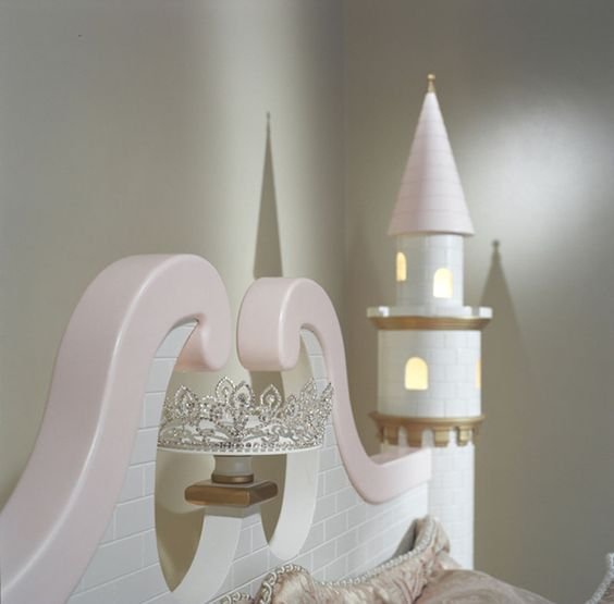 Loft bed plans castles and princess castle on pinterest for Princess bed blueprints