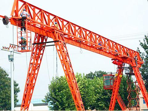 Truss Gantry Crane With Single Girder For Sale Gantry Crane Crane Crane Design
