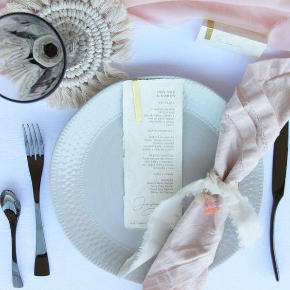 Tips para la prueba de menú de la boda