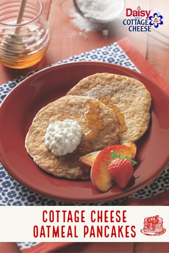 Protein Packed Pancakes Daisy Brand Sour Cream Cottage Cheese Recipe In 2020 Tasty Pancakes Oatmeal Cottage Cheese Pancakes Breakfast Brunch Recipes
