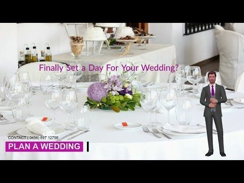 60 Second Wedding Planner Animated Business Promotional Video Second Weddings Wedding Planner Planner