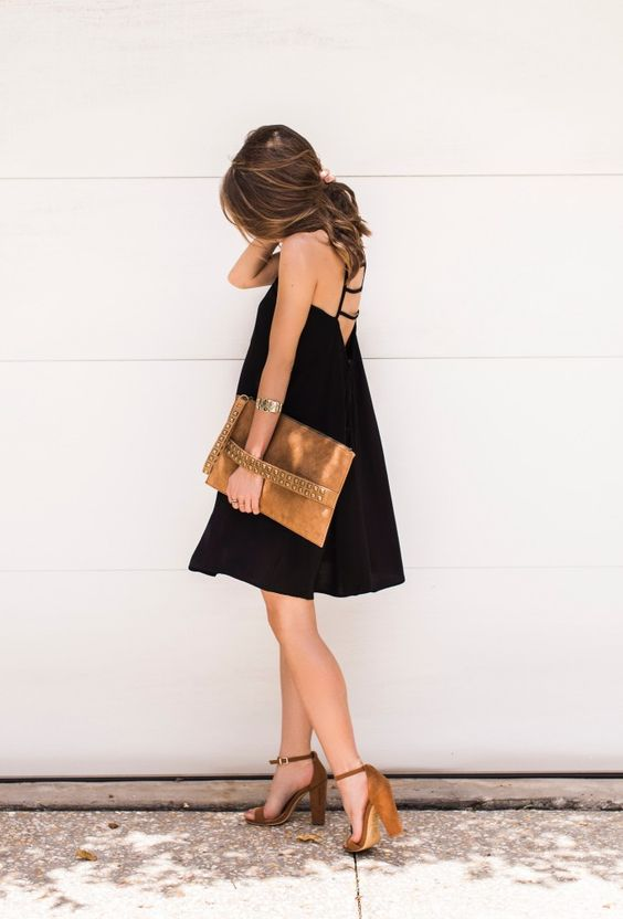 Little Black Dress | cc: @expresslife - More on www.TheStyleBungalow.com...