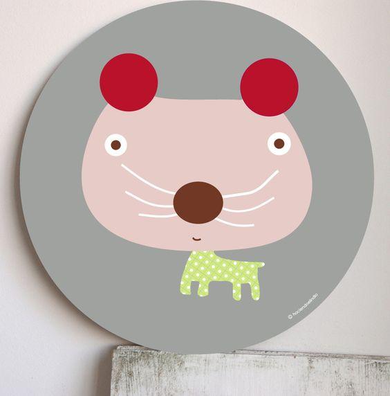 Cuadro infantil Dulce Guni- Kids wall art