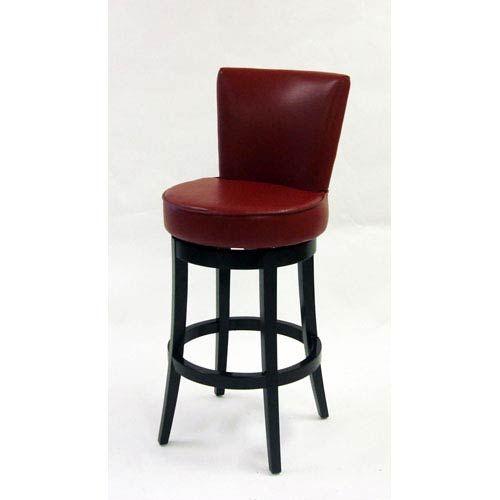 Armen Living Boston 26 Inch Red Bicast Leather Swivel Barstool Lc4044bare26 Bellacor Bar Stools Bar Table Sets Traditional Bar Stool 26 inch swivel bar stools
