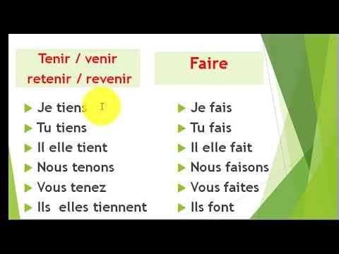 Conjugaison 11 Le Present Des Verbes Du 3e Groupe مضارع أفعال المجموعة الثالثة Youtube Conjugaison Verbe Verbe Conjugue