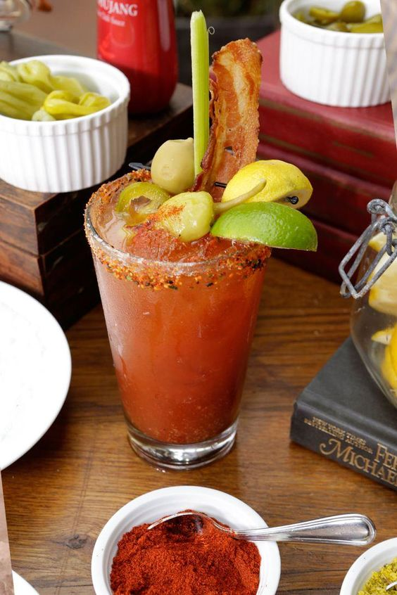 Gochujang Bloody Mary via PopSugar