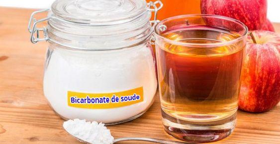 Microbiote; bicarbonate de soude; vinaigre de cidre