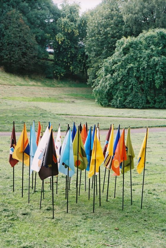 Flags from another place - Aliyah Hussain