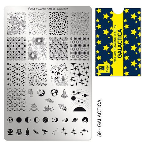 COMING SOON Moyra Stamping Plate 59 - Galactica