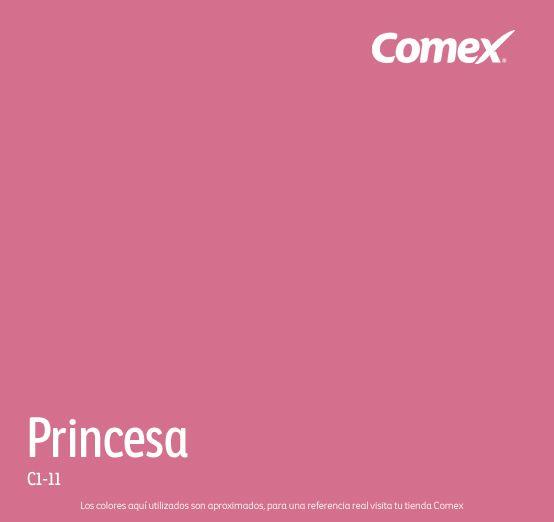 Princesa comex colorlife rosa pinterest - Tonos de pintura ...