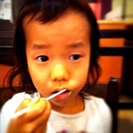 口内炎で、浮かない顔。。 - @akilla- #webstagram