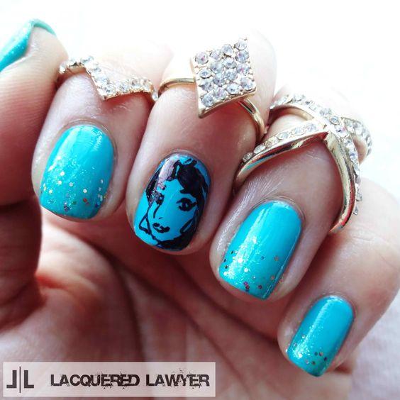 Lacquered Lawyer | Nail Art Blog: You Wish | Princess Jasmine