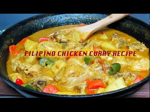 How To Cook Chicken Curry Filipino Version Tasty Chicken Curry Quick Easy Chicken Curry Youtube How To Cook Chicken Curry Chicken Curry
