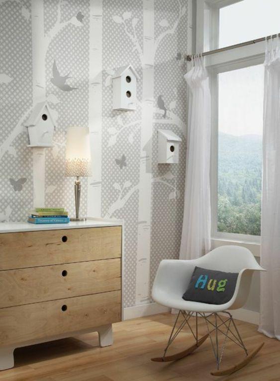 30 Ideen für Kinderzimmergestaltung -  deko kommode holz Ideen für Kinderzimmergestaltung