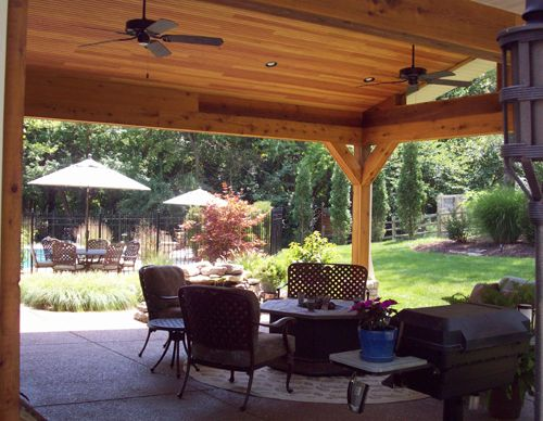 Patios, Porches And Pergolas | St. Louis County Covered Patio | For The  Home | Pinterest | Patios, Pergolas And Pot Lights