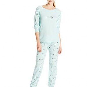 Hue Sleepwear Women's Thermal Knit Pajama Sets, Rambling Sheep ...