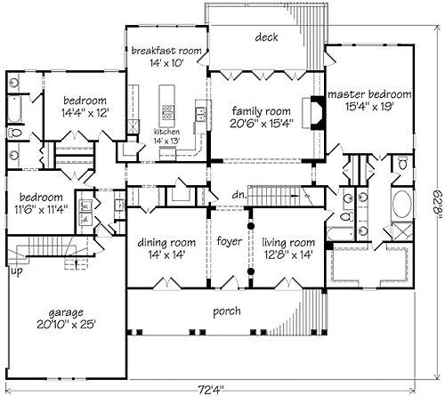 Fun Houseplan One Day Pinterest Big Kitchen