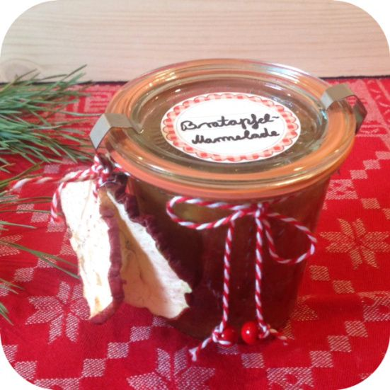 PAMK #3: Bratapfelmarmelade – oder – Diese Marmelade ist ein Gedicht | Lilamalerie