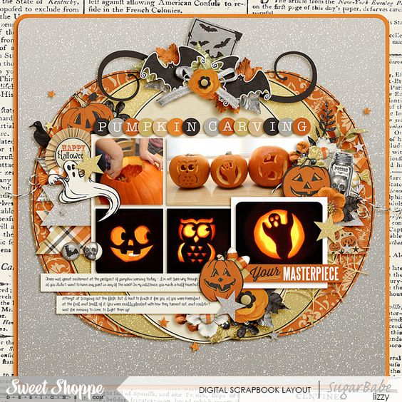 Single 114: Pumpkin Carving 101 - Cindy Schneider A Haunting We Will Go - Jady Day Studio