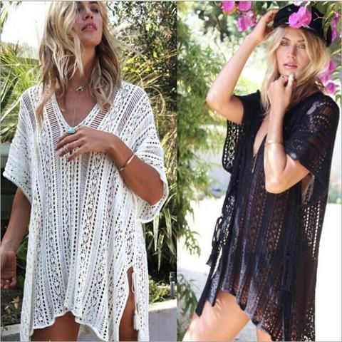 Amazing Crochet Beach Cover Up Free Pattern In 2020 Crochet Beach Dress Crochet Dress Pattern Free Crochet Bathing Suit Cover