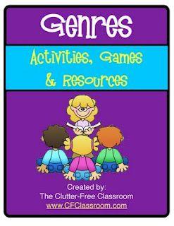 Clutter-Free Classroom: TEACHING GENRE