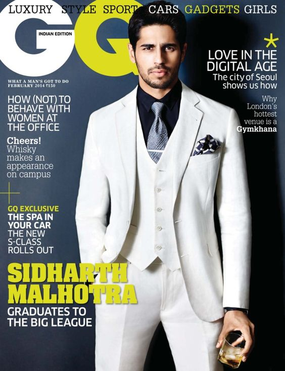 GQ India - February 2014:  Mario's girl, How to behave around women at the office, The S-Class is here, Jewel in the crown, The Good Life, Grooming and more....