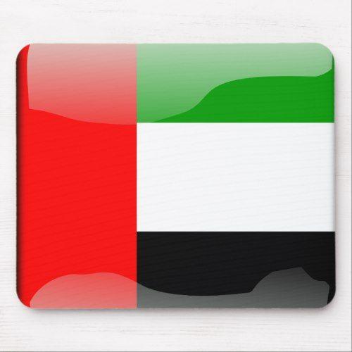 United Arab Emirates Glossy Flag Mouse Pad Zazzle Com Fun Mouse Pad Personalized Custom Custom Mouse Pads
