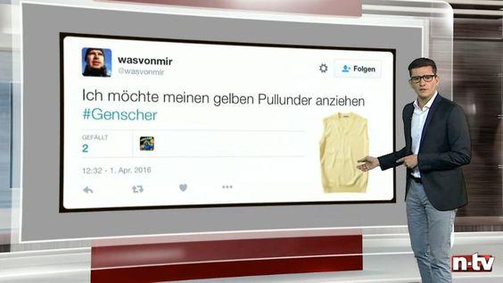 n-tv Netzreporter: Deutschland trauert im Internet um Hans-Dietrich Genscher