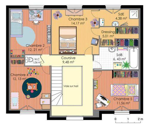 Tagada (tibere78) on Pinterest - plan maison etage m