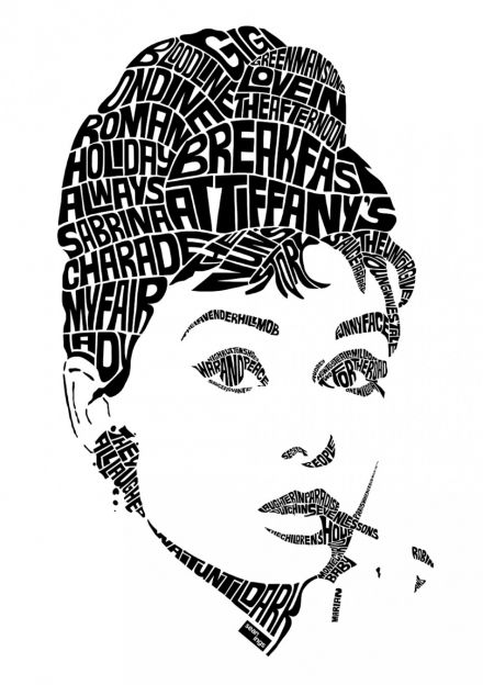 Audrey Hepburn #art #illustration #film #breakfastattiffanys #audreyhepburn