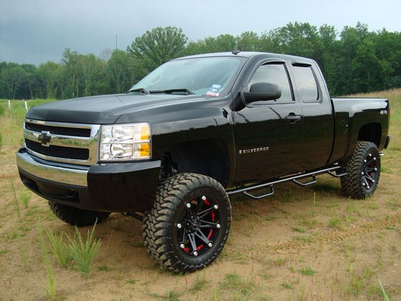 jacked up chevy - Google Search