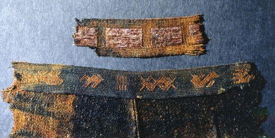 Evebo 5/6th century tablet woven band Fotoportalen UNIMUS