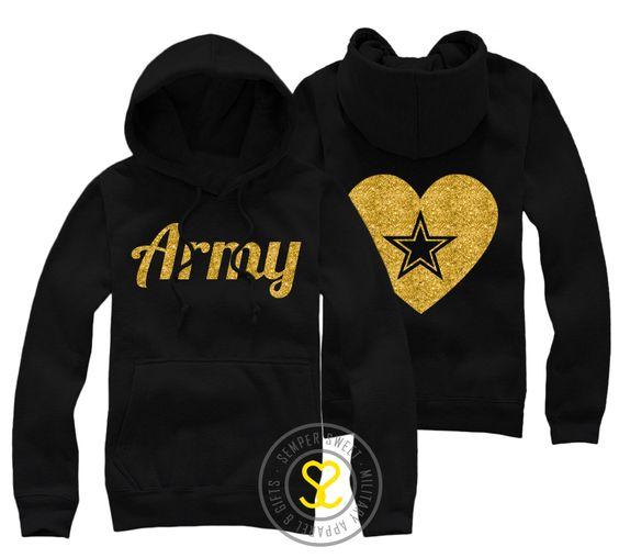 Semper Sweet - Army Heart  Hoodie, $36.99 (http://sempersweet.com/army-heart-hooded-sweatshirt/)