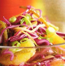 Das perfekte Rotkohlsalat mit Senfdressing-Rezept mit Bild und einfacher Schritt-für-Schritt-Anleitung: 1.  Den Kohl in feine Streifen schneiden, in ein…
