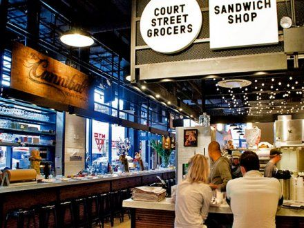 A food court alright, but Gotham West Market in Hell's Kitchen isn't of the hellish, suburban mall variant.