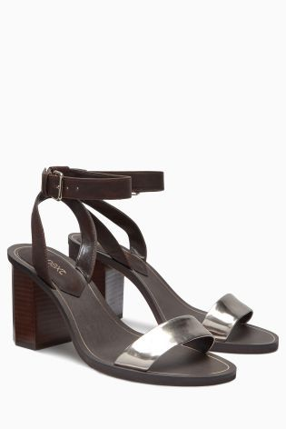 Buy Hexagon Heel Sandals online today at Next: South Africa | next