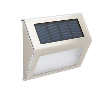 Aplique Solar Led Arte Eon Leroy Merlin Luces De Emergencia Led Iluminacion Exterior