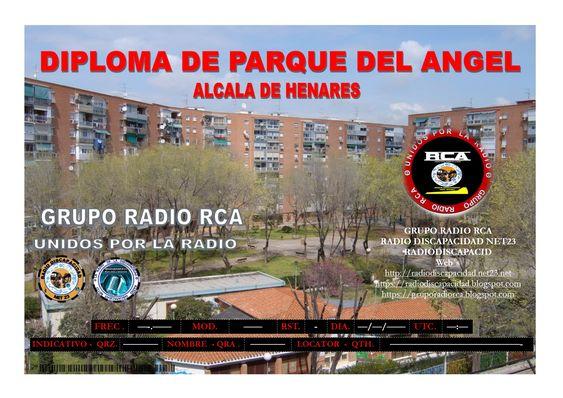 Nuevo Diploma para ser activado (Parque del Angel)