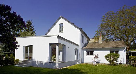 erweiterung und sanierung einer doppelhaushälfte, düsseldorf, Garten ideen