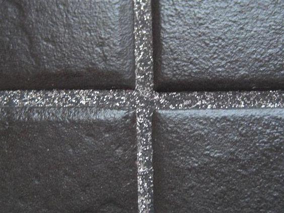 *They make glitter grout! #glitz #design www.propertyrepublic.com.au