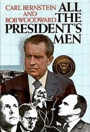 All the President's Men, by Carl Bernstein and Bob Woodward.  Just read it.