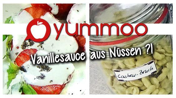 Vanillesauce aus Nussmilch | Yummoo | vegan, lactosefrei und lecker !