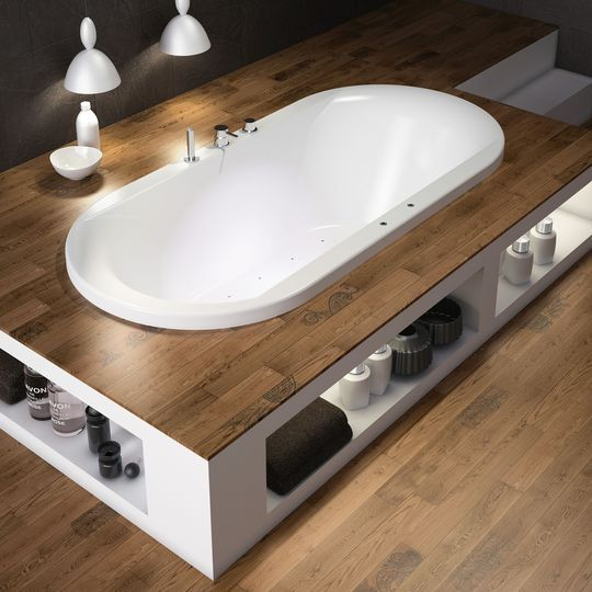 Baignoire balneo baignoire d 39 angle les meilleures baignoires design - Coffrage baignoire bois ...