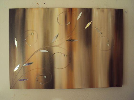 Abstrato com espelhos