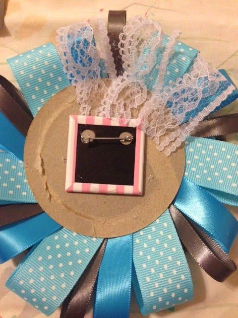 Home Sweet Swaim How To Make A Ribbon Corsage Baby Shower
