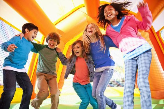 6 Fun Games to Play in a Bouncy House