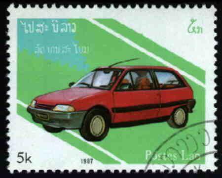 Laos - Citroën AX